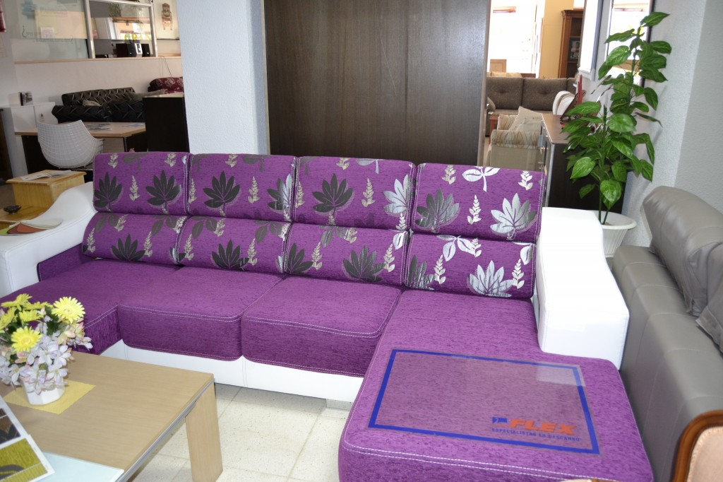 Sofa cheslong now 1390 before 1732 muebles s nchez y for Medidas sofa cheslong