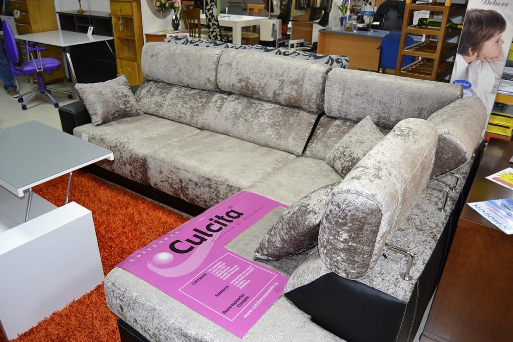 Sof cheslong ahora 1595 antes 1836 muebles s nchez y for Ofertas en sofas cheslong